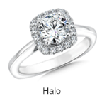 Halo rings