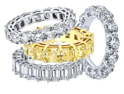Eternity Bands Jewelry image