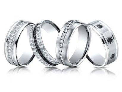 Men Wedding Bands Jewelry image