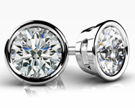create your bezel studs at id jewelry