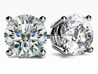 shopt at Id jewelry Diamond Stud Earrings NYC