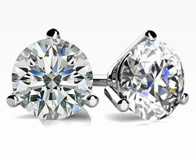 create your round diamond studs